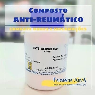 COMPOSTO ANTI REUMÁTICO 60 CÁPSULAS MANIPULADO