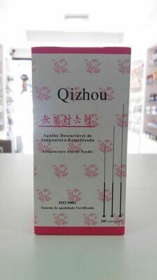 AGULHA QIZHOU (QZ) 0,25X40 C/100 UNIDADES INDIVIDUAL