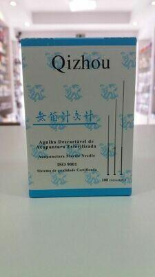 AGULHA QIZHOU (QZ) 0,20X13 C/100 UNIDADES INDIVIDUAL