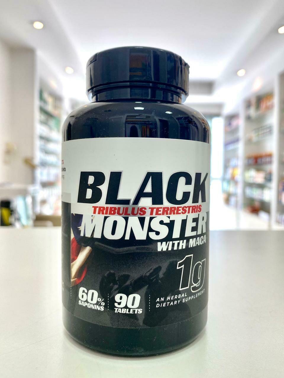 TRIBULUS TERRESTRIS BLACK MONSTER  1000 MG
