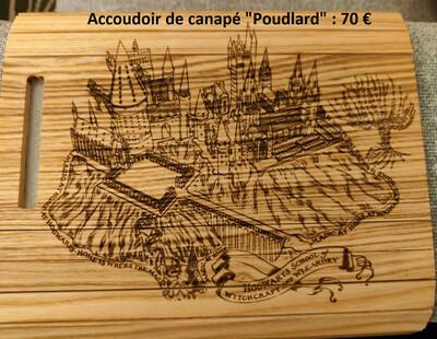 Gravures sur bois sur devis
