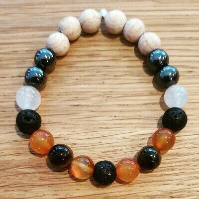LION. Bracelet astrologique