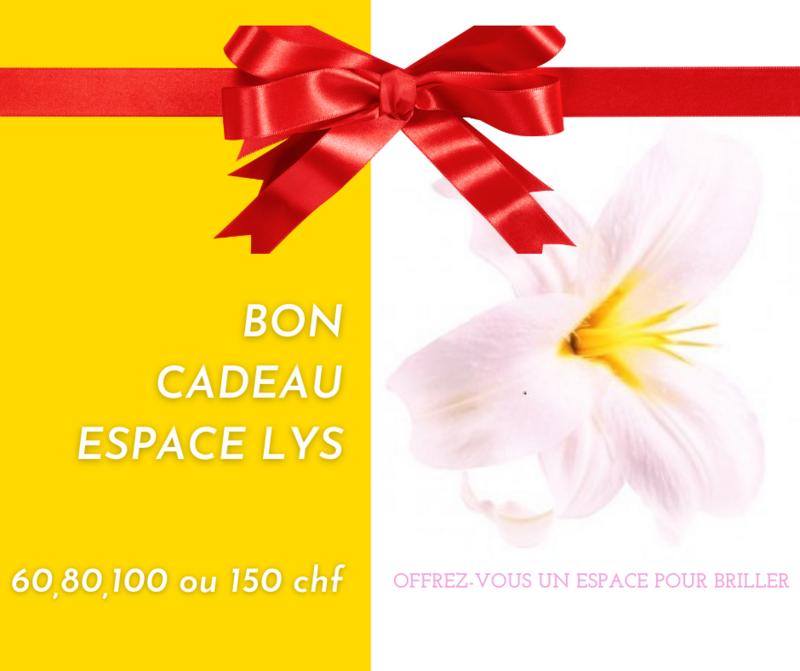Carte Cadeau Espace Lys