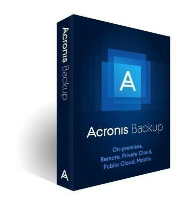 Logiciel Acronis Backup 12.5