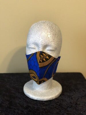 R-Mask Royal Blue / Gold