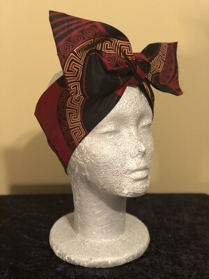 Tiara Maroon Black Gold