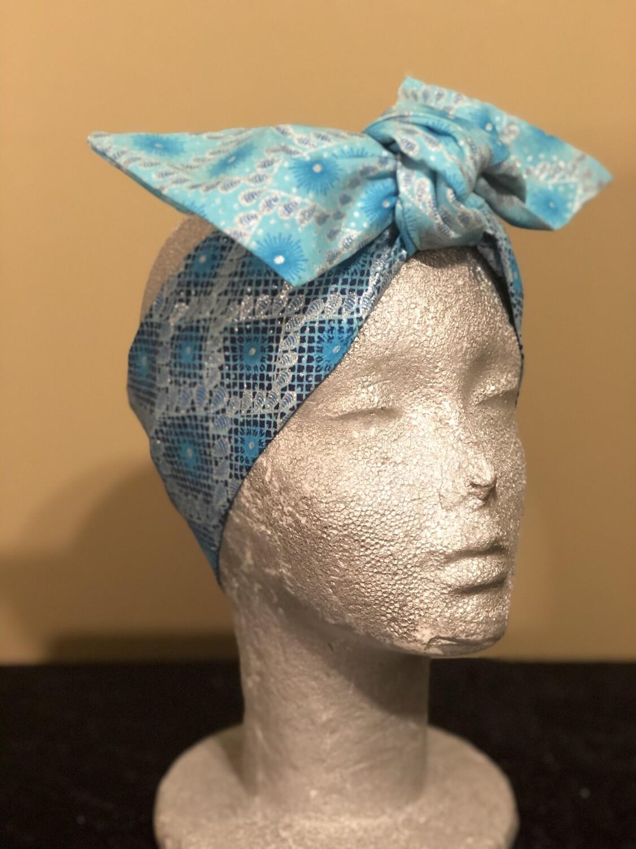 Tiara - Blue/Silver Ombre