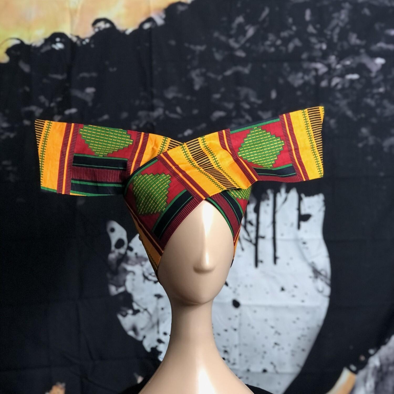 Tiara - African Print Kente