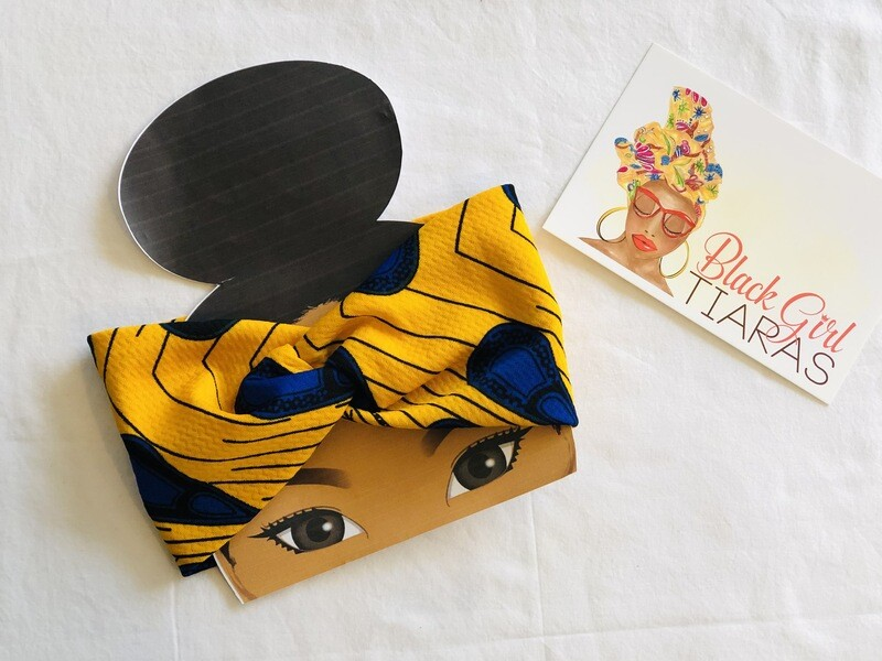 Bandette - Royal Blue or Yellow