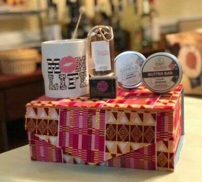 GB Mother's Day Kit - Pink Shimmer Kente