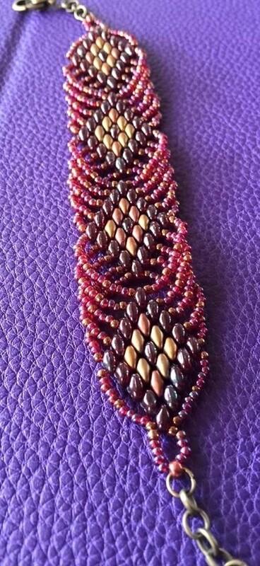 Superduo Diamond Bracelet