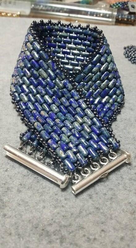 Wide Rulla Bracelet Masculine-Style