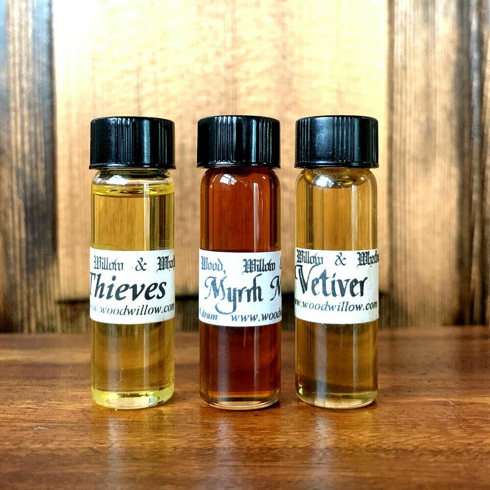 Pack of 3 - 1.5 Dram Bottles