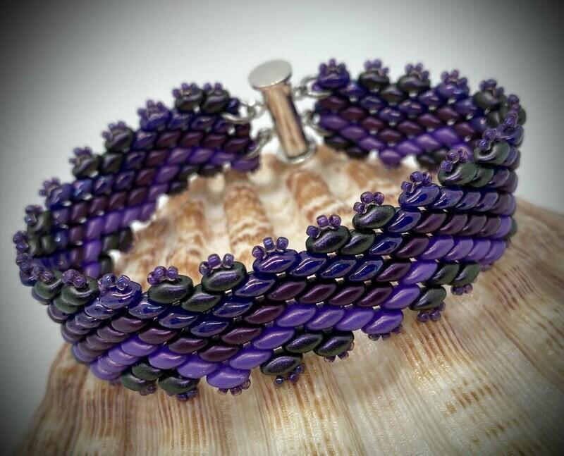 Superduo Linear Bracelet