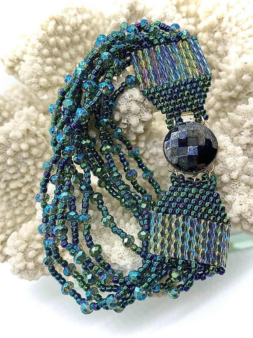 Crystal Strands Bracelet