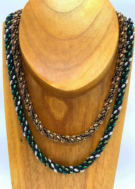 Spiral Rope Necklace