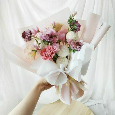 Pink + Plum Bouquet