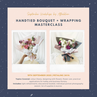 Floral Arrangement Wrapping Masterclass