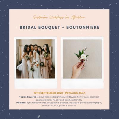 Bridal Bouquet + Boutonniere Workshop