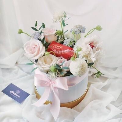 Chocolate + Flower Box