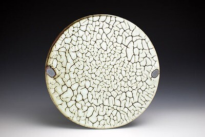 Crackle Dinner Plate