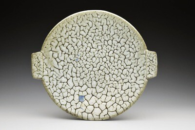 Crackle Nuka Plate with Handles