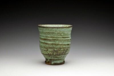 Copper Green Yunomi