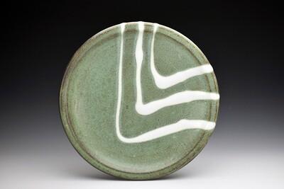 Copper Green Dinner Plate