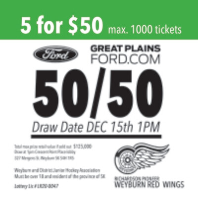 5 tickets for $50