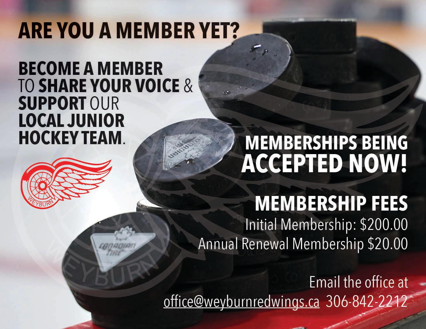 Red Wing Membership