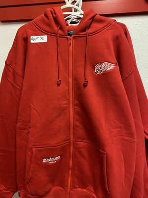 Red Zip Up - Arctic Brand