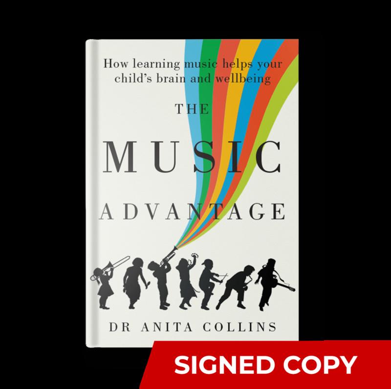 The Music Advantage (SIGNED Hardcopy)