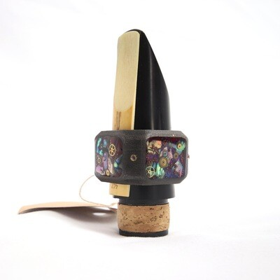 """REVELATION"" Ring Ligature Sound Booster Heavy Mass(Limited Edition) for Alto Saxophone Clarinet"