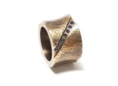 """SENSATION"" Alto Saxophone Ligature Sound Booster | Heavy Mass Ring Ligature"