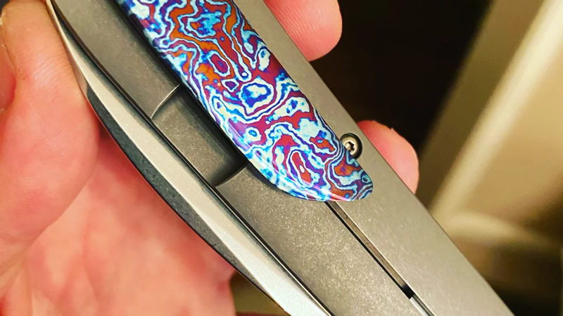 Custom Swayback Clip Timascus