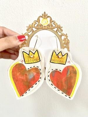 Reina de corazón real