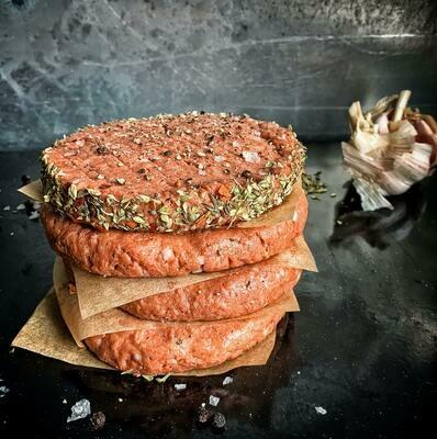 4oz Ground Beef Patties