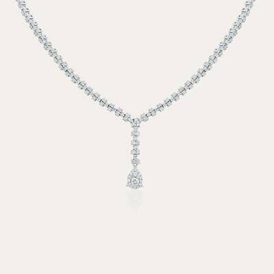 Bridal Necklace White Diamond