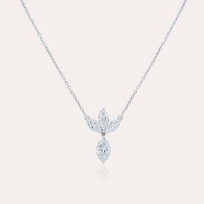 Eternal Pendant White Gold & Diamond