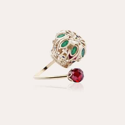 Crown Ring Gold & Semi Precious