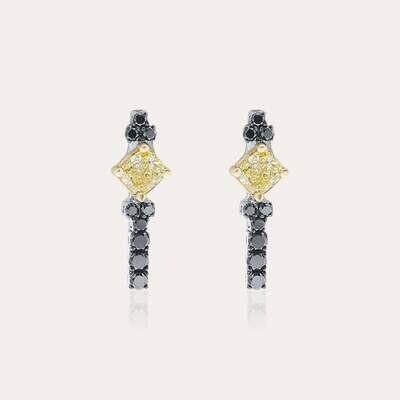 Eternal Earrings Black Diamond & Fancy