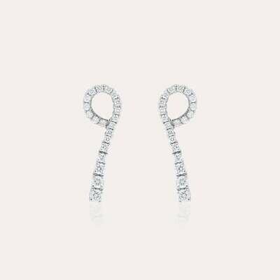 Earrings Bridal Diamonds