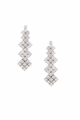 Diamond Bridal Earrings