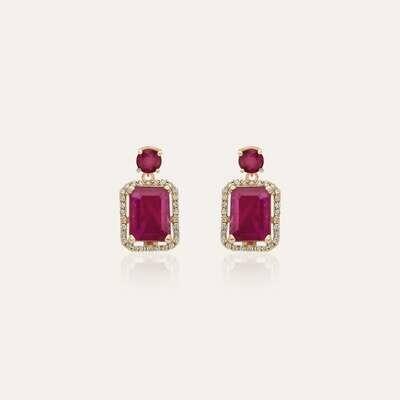 Eternal Earrings Diamond & Ruby