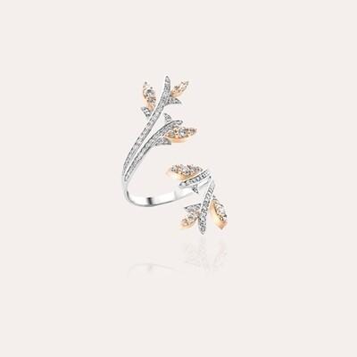 Eternal Ring Mixed Gold & Diamond