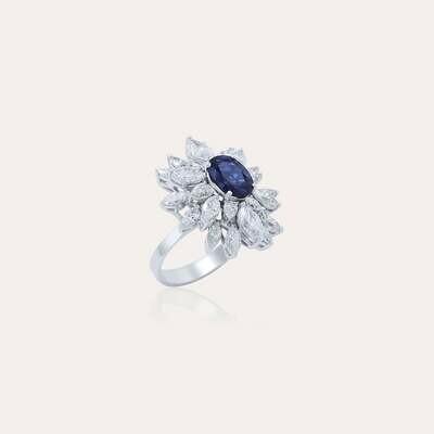 Eternal Ring Diamond & Sapphire