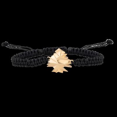 Cedar Bracelet Gold & Shamballa