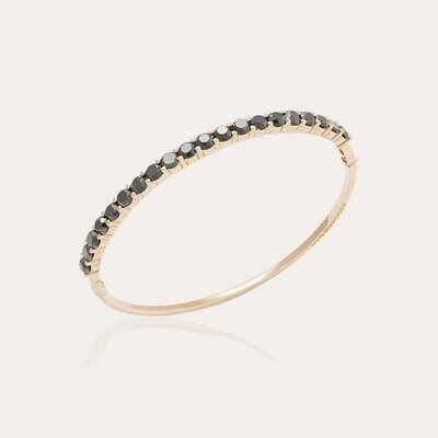 Eternal Bangle Gold & Black Diamond