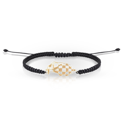 Spartan Bracelet Gold & Shamballa