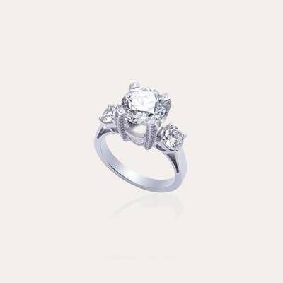 Wedding Band Solitaire Diamond